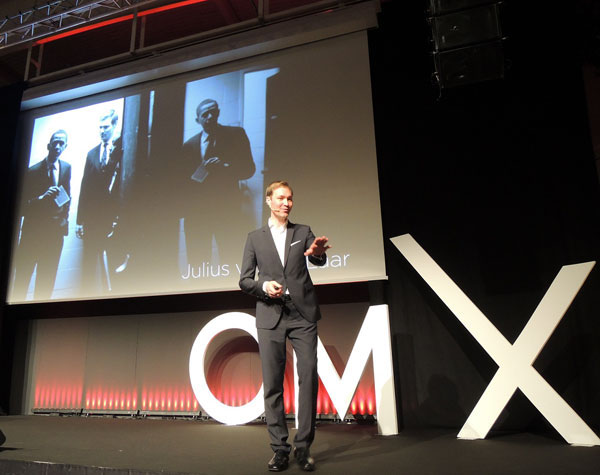 Auch dieses Mal waren wieder viele hochkarätige Speaker bei der OMX in Salzburg dabei.