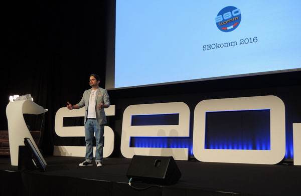 Markus Tandlers Vortrag war wieder eines der absoluten Highlights auf der SEOkomm 2016.